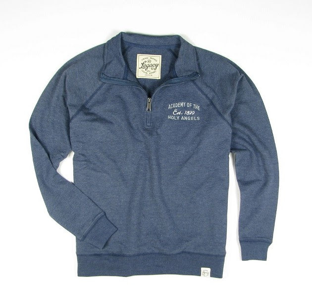 French Terry Fleece Quarter Zip