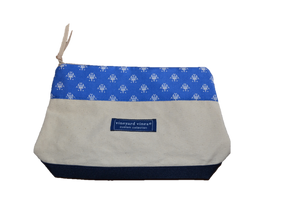 Custom AHA Canvas Makeup Bag by Vineyard Vines