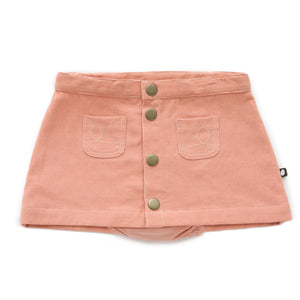 Snap button skirt w/ bloomer-Canyon Sunset