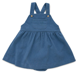 Worker Overall Dress w/ Bloomers Midnight Blue