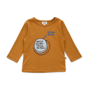 Long Sleeve Shirt-Reset Ochre