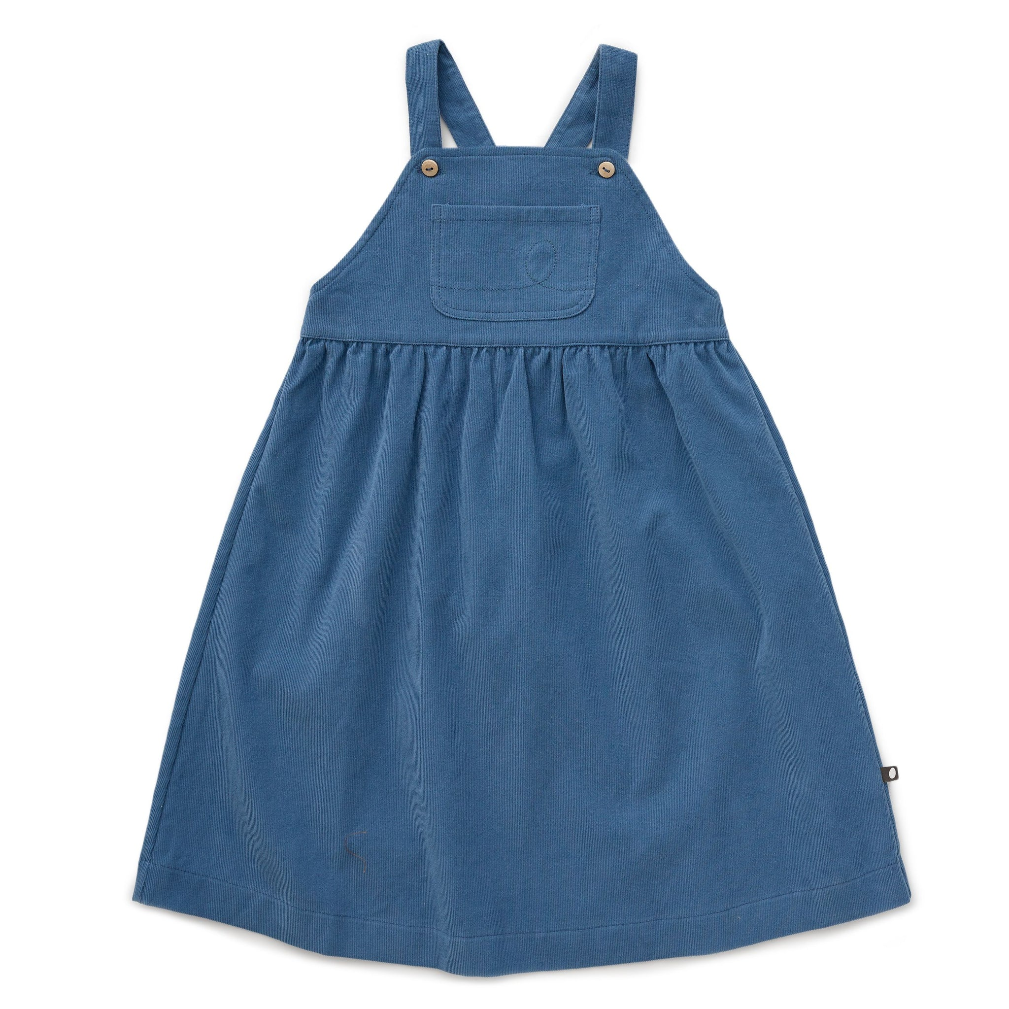 Worker Overall Dress Midnight blue