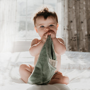 Organic Cotton Baby Washcloths