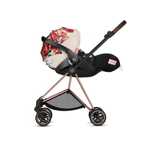 Cloud Q Infant Car Seat with Sensorsafe Light Spring Blossom
