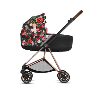 Mios Carry Cot - Dark Spring Blossom