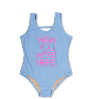Wish You Were Here Scoop - One Piece Swimsuit
