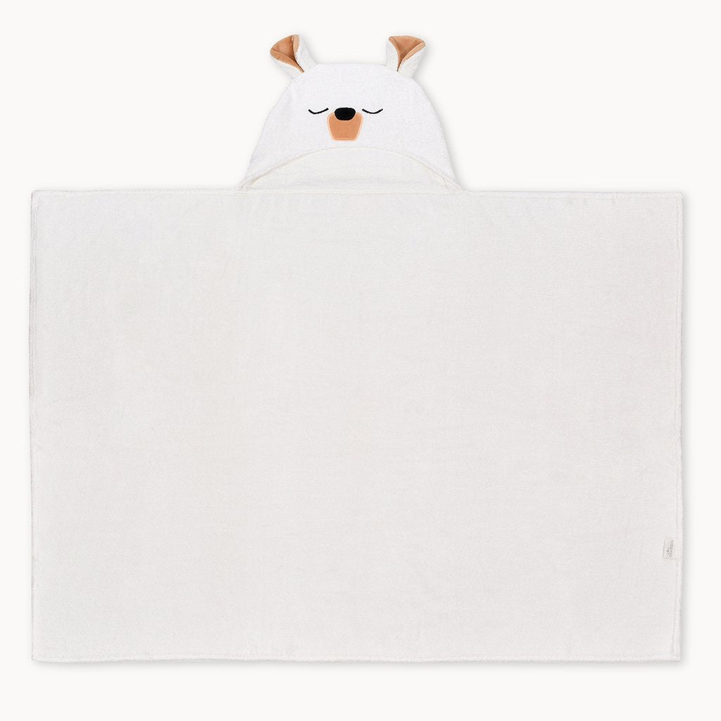 Polar Bear Bamboo Hooded Towel