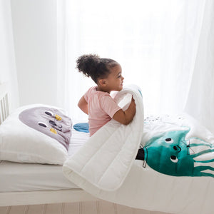 Rookie Humans Toddler Comforter: Jellyfish