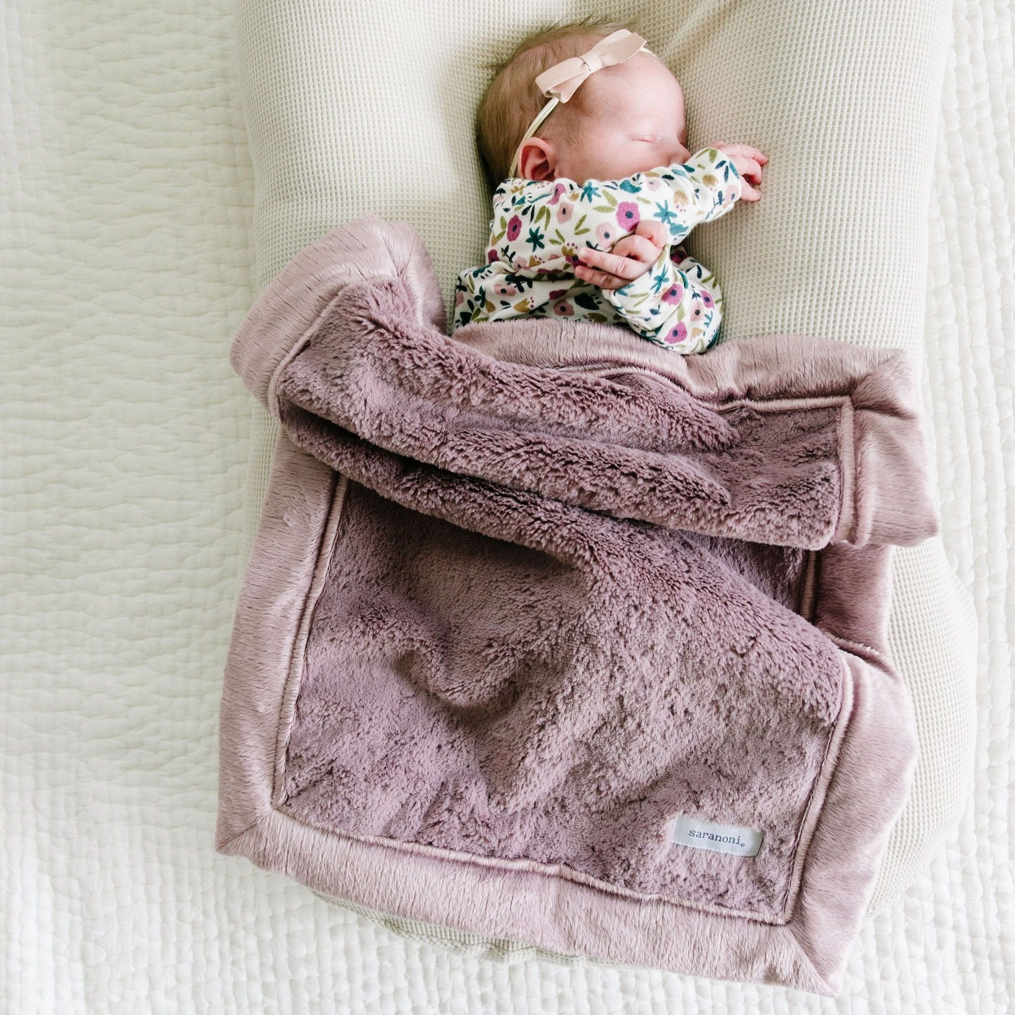 Bloom Lush Mini Blanket
