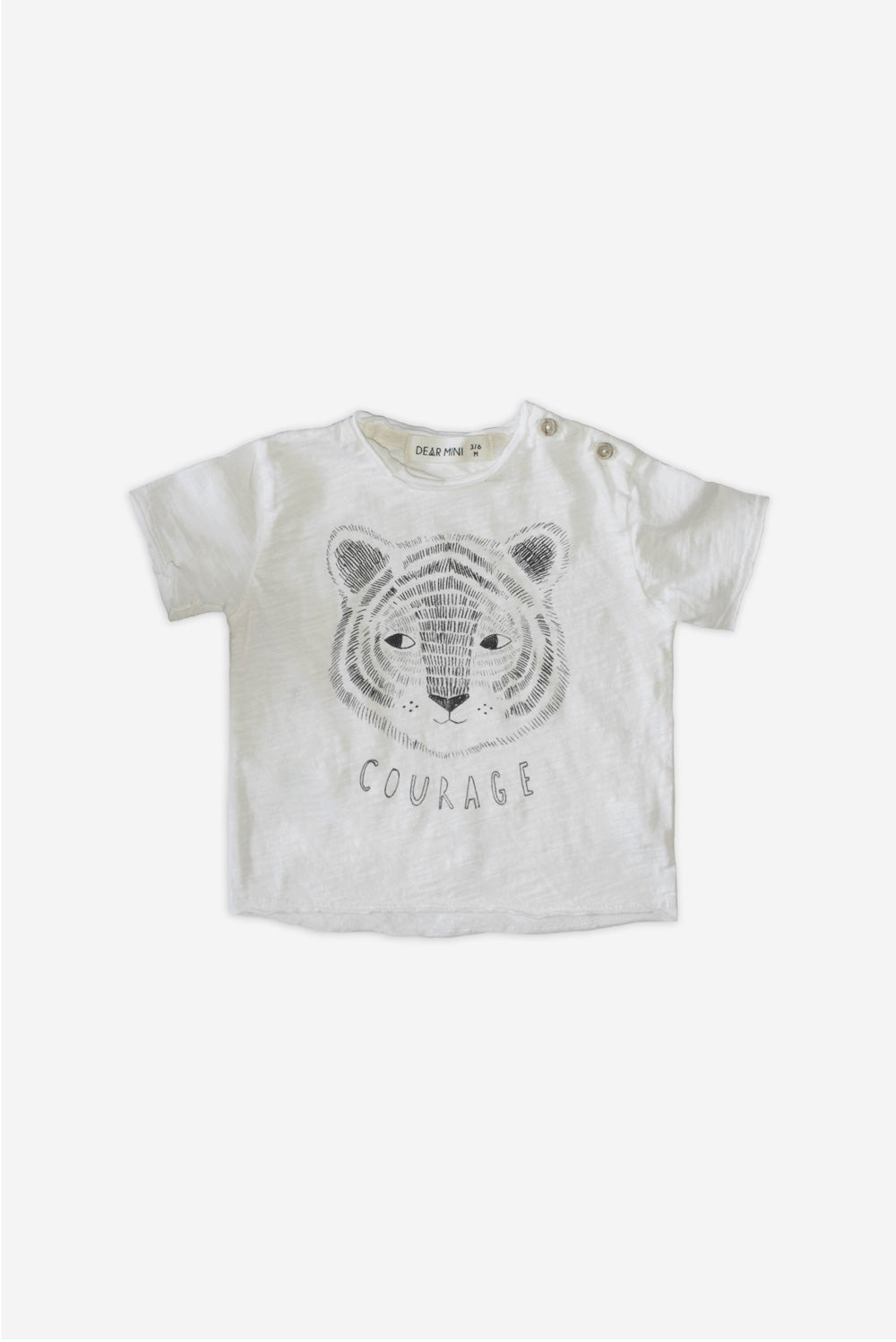 Tiger Ecru T-Shirt