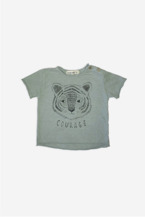 Tiger Sage - Grey T-Shirt