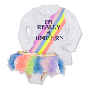 I'm Really Unicorn Rashguard Set