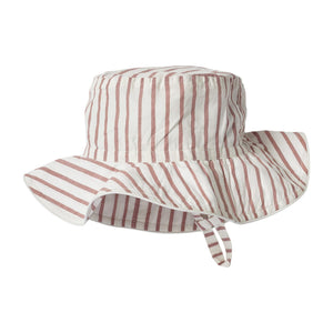 Bucket Hat - Stripes Away Dark Pink