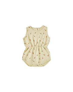 Radish Cinch Playsuit Butter