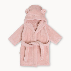 Organic Cotton Hooded Robe for Babies & Toddlers