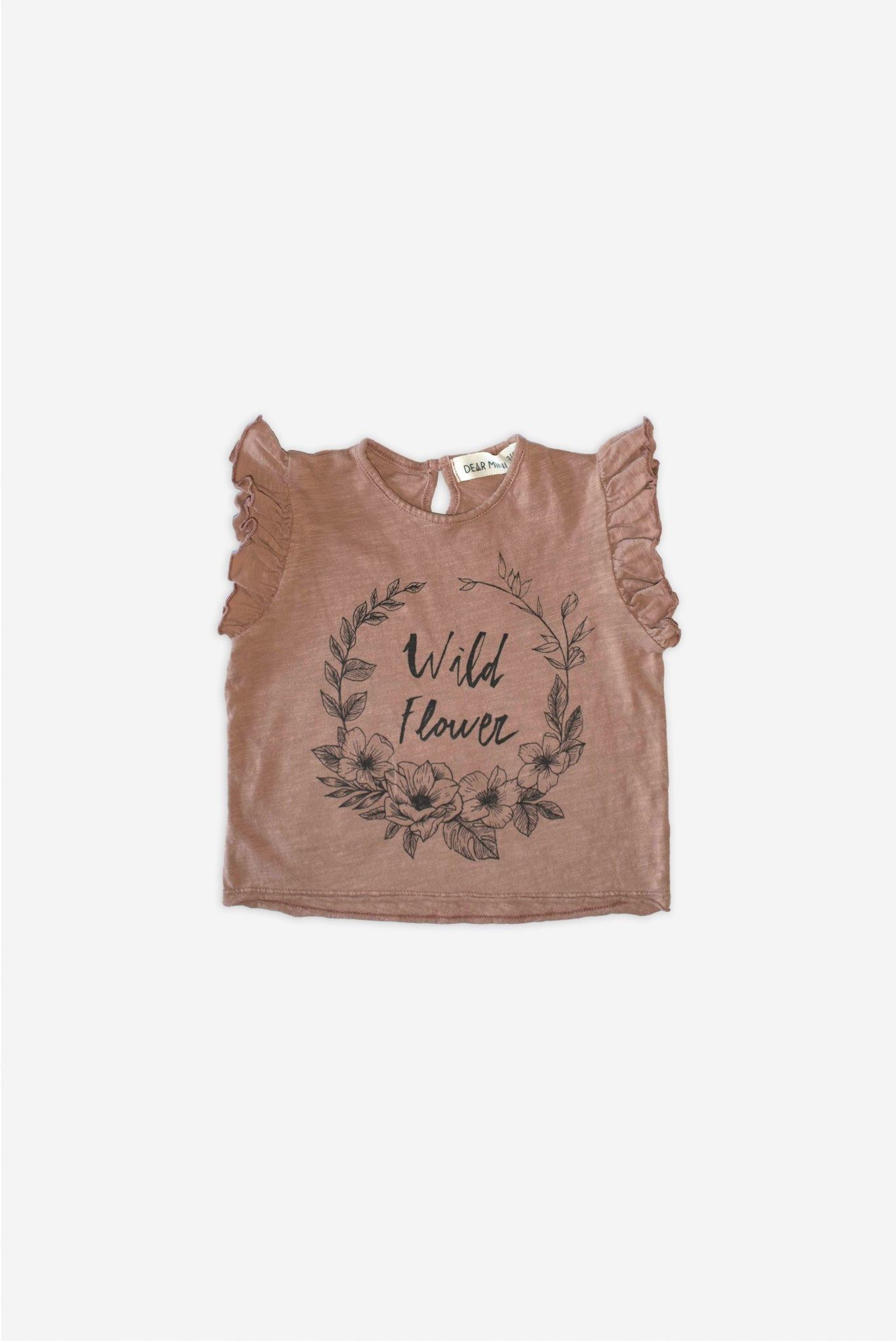 Flowers Clay Up T-Shirt