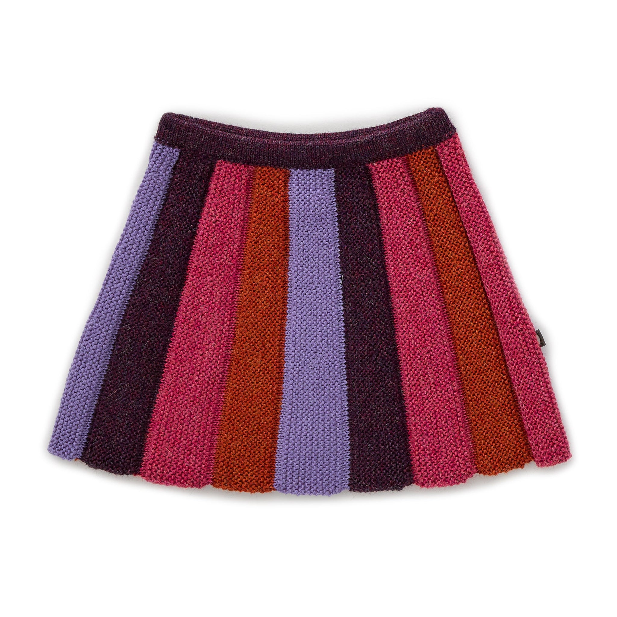 Striped Skirt Lilac