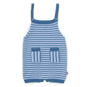 Play Romper - Icy Blue