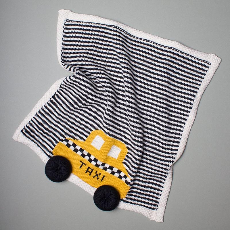 Organic Taxi Lovey/ Baby Security Blanket