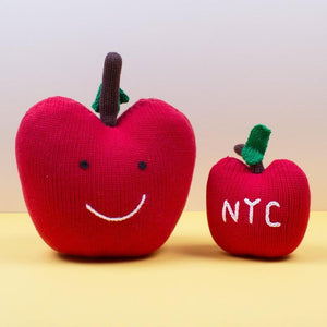 Big Apple Stuffed Organic Toy - Medium