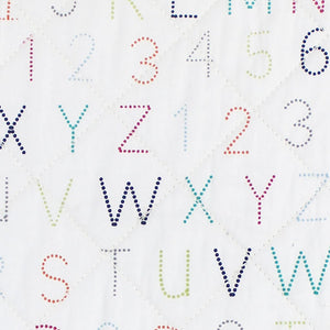 Alphabet Change Pad Cover