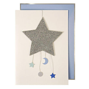Baby Star Mobile Card