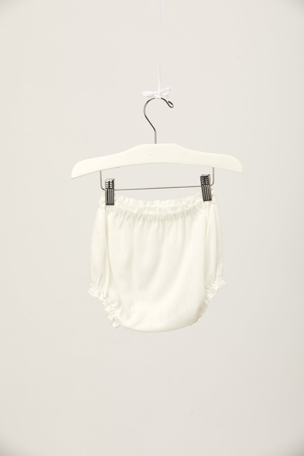 Creamsicle Pointelle Bloomer - Blanc