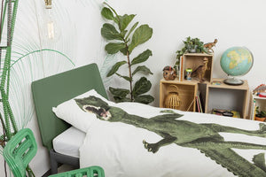 Dino Duvet Cover and Pillowcase
