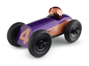 Midi Race Car Clyde - Purple/Copper Helmet