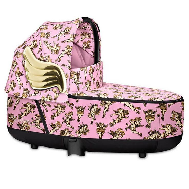Cybex JS Collection - Cherub Pink - Priam Carry Cot