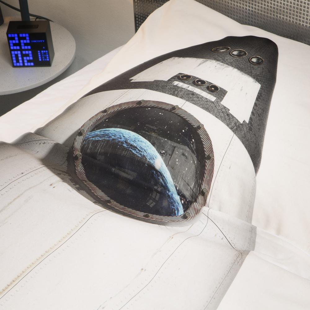 Rocket Duvet Cover and Pillowcase