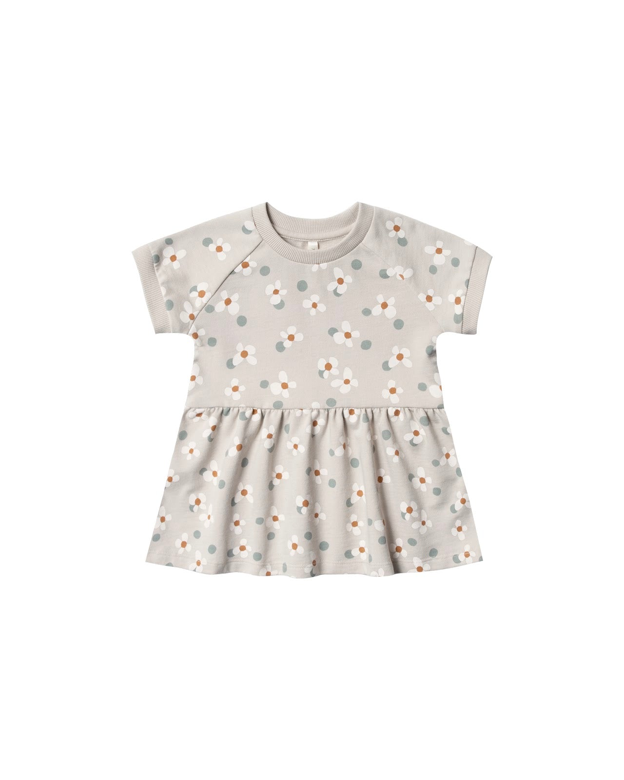 Raglan Dress Dotty Flowers