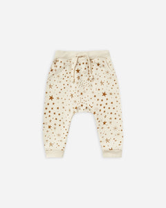 Starburst Sweatpants- Natural