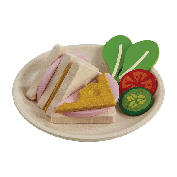 Wooden Sandwich Set