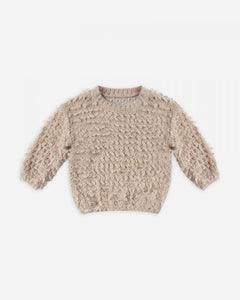 Slouchy Pullover - Oat