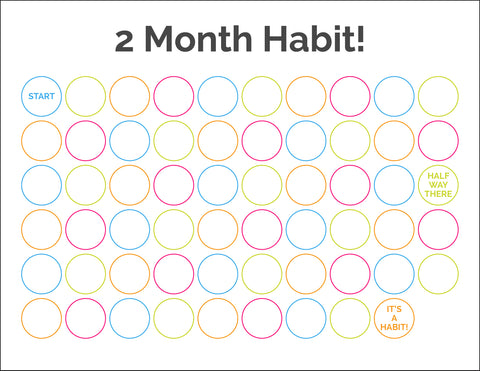 2 months to make a habit countdown