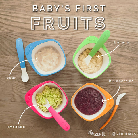 Baby's First Solids Ideas