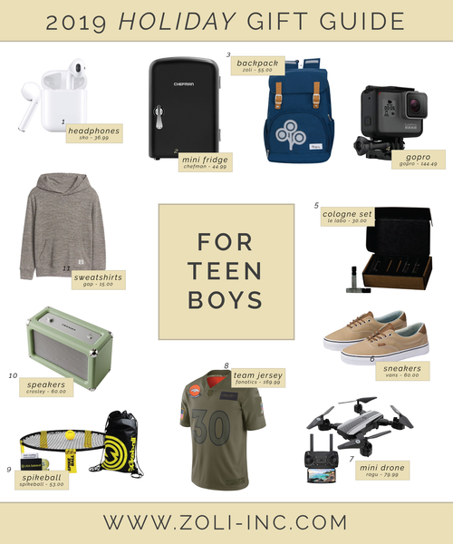 2019 holiday gift guide for teen boys