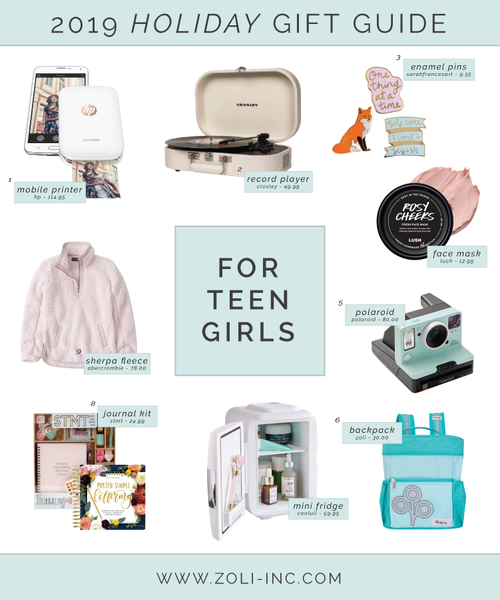 2019 teen girls holiday gift guide
