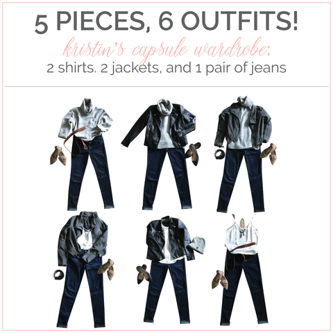 Team ZoLi's Capsule Wardrobe Check In 1