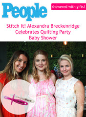 Alexandra Breckenridge gets CHUBBY GUMMY at baby shower