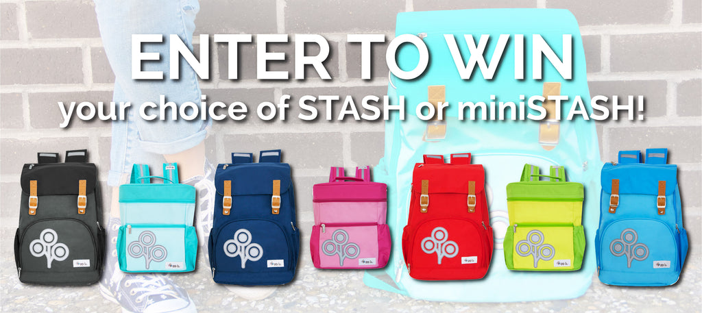 Enter to win a STASH or miniSTASH!