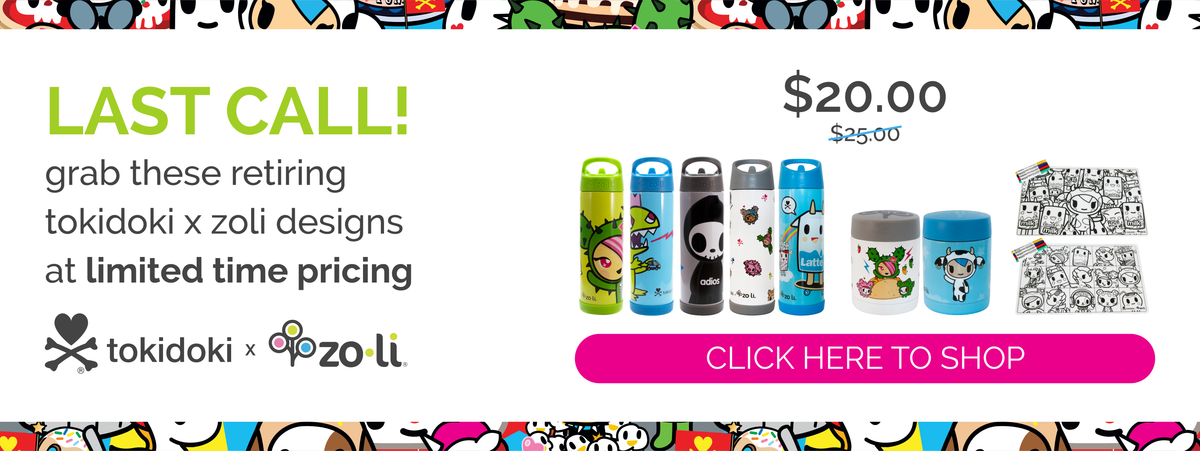 tokidoki SALE on retiring designs
