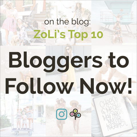 Bloggers to Go Follow Now! ZoLi's Top 10