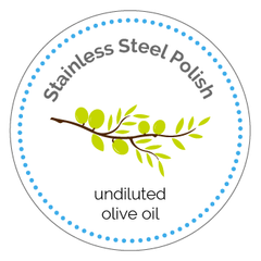 Stainless Steel Cleaner Printable Label