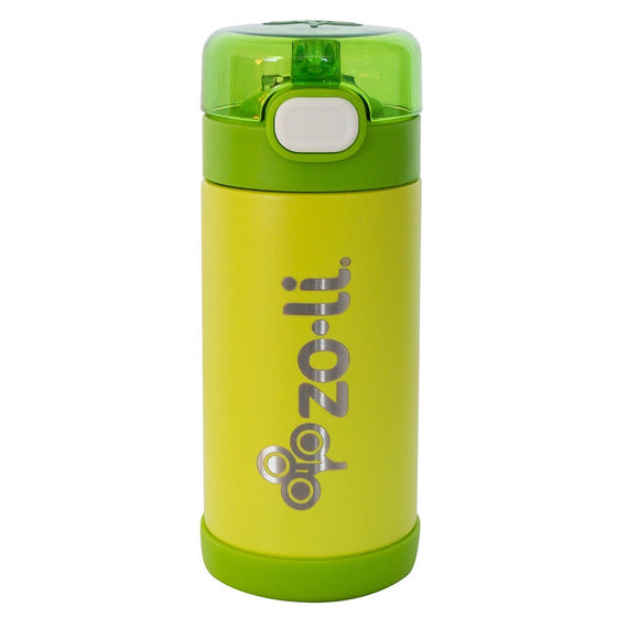POW-SQUEAK-kids-water-bottle-stainless-green