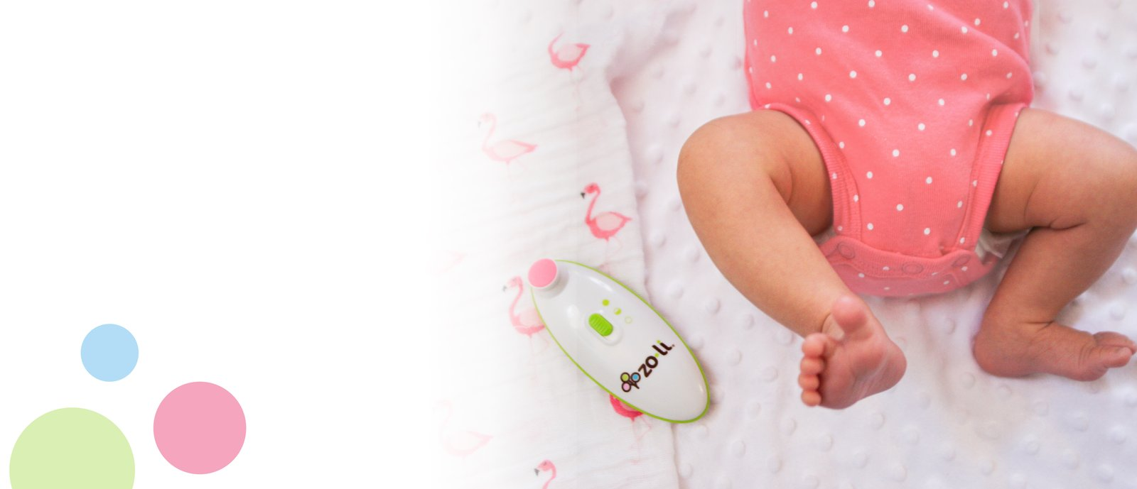 BUZZ B electric baby nail filer
