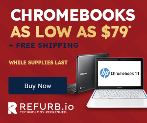 Chromebooks as Low as $79
