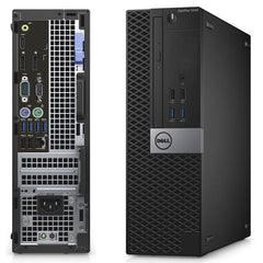 Dell OptiPlex 5040 SFF i5-6400 2.7GHz, 8GB RAM 128GB SSD, WIFI Win10P (Refurbished)