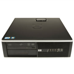 HP 8000 Elite SFF C2D E8400 3.0ghz 8GB Ram 1TB drive DVD Win 10 Pro